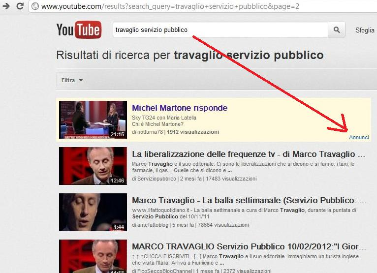 martone youtube sfigato